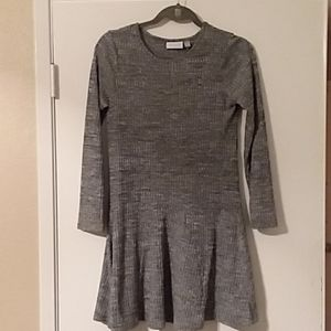 Swirly fall dress perfect for Thanksgiving